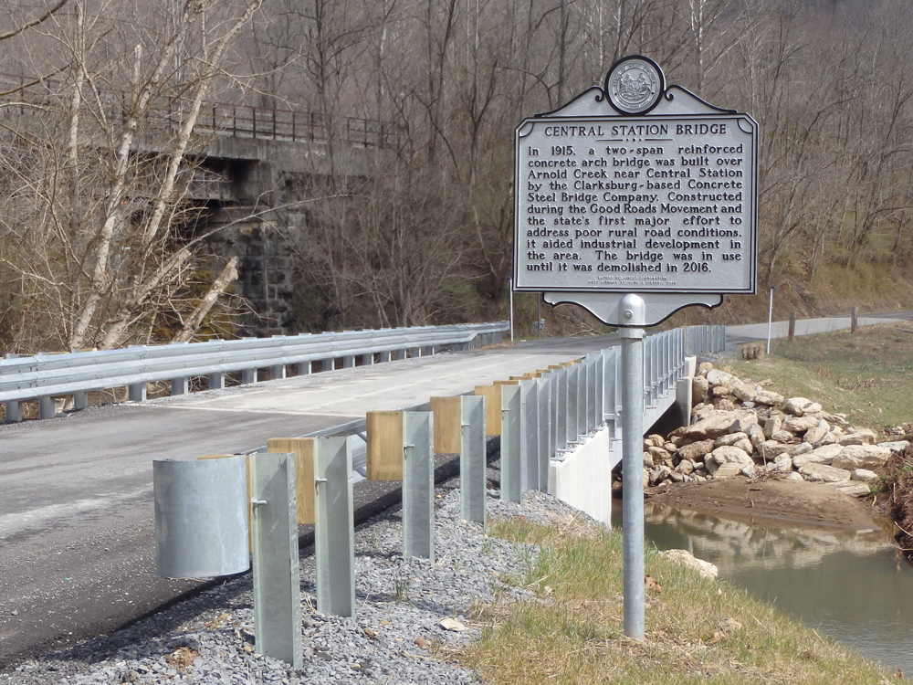 facilitated a Memorandum of Agreement for Central Station Bridge in Doddridge County, WV