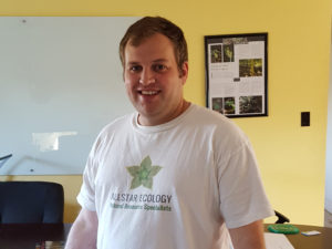Senior Environmental Scientist / Project Manager Ryan Ward