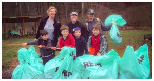 2017 Trash Cleanup provided by ASE's Employer Sponsored Volunteer Program